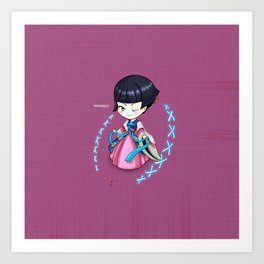 Chibi Corea Art Print