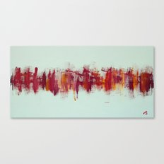 City IV - Spanish Sunset Canvas Print