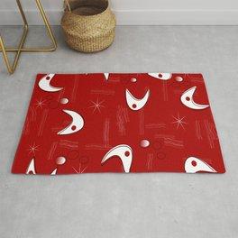 Boomerangs on Red Rug