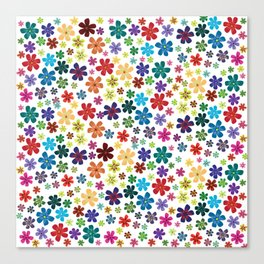 Flowers - Flowers Canvas Print
