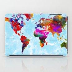 World Map - 3 iPad Case