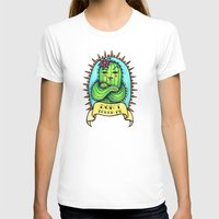 sassy T-shirts featuring Sassy Cactus by LittleWillowArt