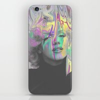 monroe iPhone & iPod Skins featuring Monroe by Cale potts Art