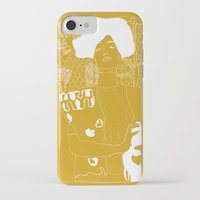 gustav klimt iPhone & iPod Cases featuring Gustav Klimt by Ian CY Hau