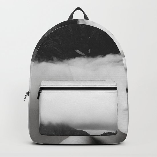 silence of the mountain Backpack