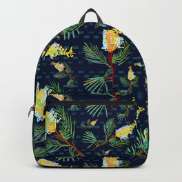 Grevillea - Australian Native Florals Backpack