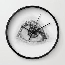 Cartoon Eye Wall Clock