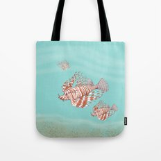 Fish Manchu Tote Bag