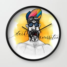 Dark Necessities Wall Clock