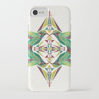 hummingbird iPhone & iPod Cases featuring hummingbird  by Manoou
