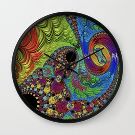 What If We Talked It Out Wall Clock
