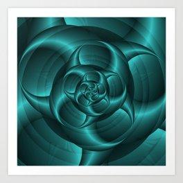 Spiral Pincers Art Print