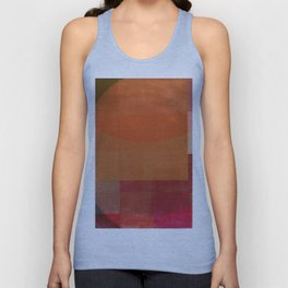 Squares in Shades Unisex Tank Top
