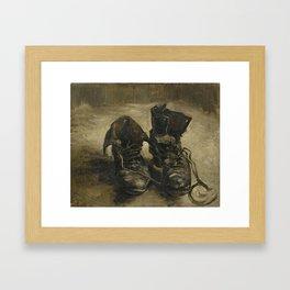Vincent van Gogh - Boots Framed Art Print
