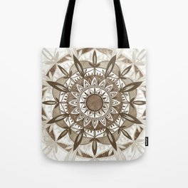 Energy Brown Tote Bag