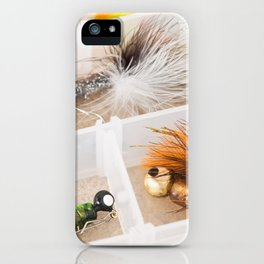 Fishing Tackle 48 iPhone Case