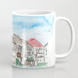 Strasbourg Alsace France Petite France Ill Waterfront Coffee Mug