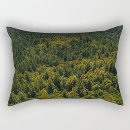 California Redwood Forest III Rectangular Pillow