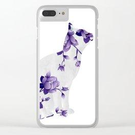Cat 22a Clear iPhone Case