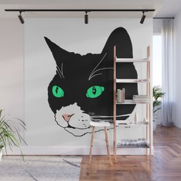 Green-eyed Pep Wall Mural