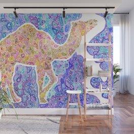 Kaleidoscope Camel Wall Mural
