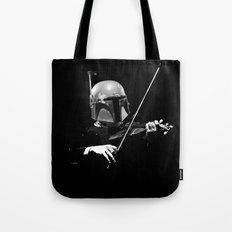 Dark Violinist Fett Tote Bag