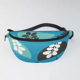 Mushrooms and flowers Fanny Pack