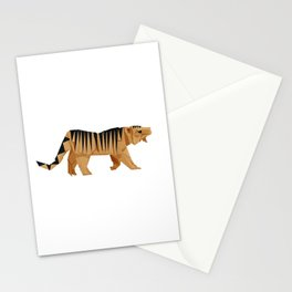 Origami Tiger Stationery Cards