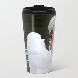 Swan in water2 Travel Mug