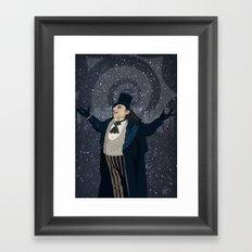 Oswald Cobblepot - The King Penguin Returns! Framed Art Print