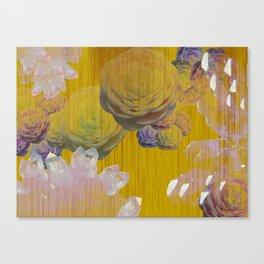 Crystal Camellia  Canvas Print