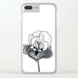 Wild Iris Clear iPhone Case