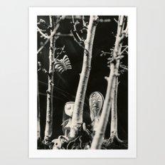 The girls - tim burton Art Print