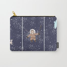 Hare, Bear & Manu  Carry-All Pouch