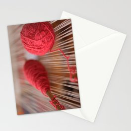 Loom and spindle craft Stationery Cards