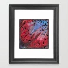 Нot evening Framed Art Print