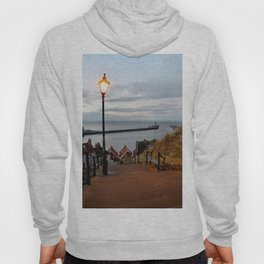 Whitby Steps Blue Hour Hoody