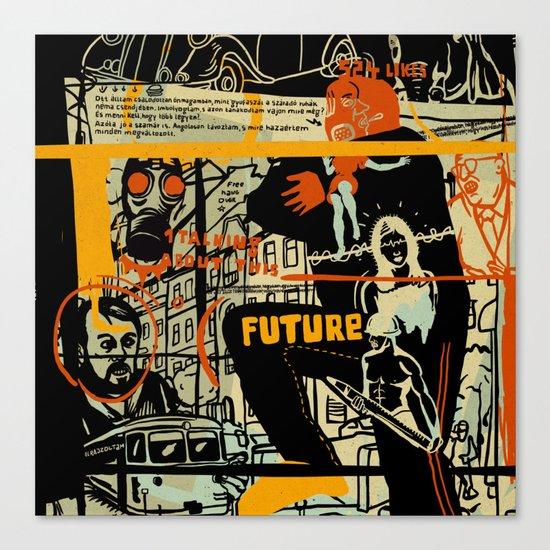 Freud III. Canvas Print