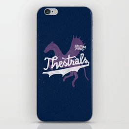 Thestrals iPhone Skin