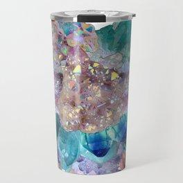 Aura Crystal Bouquet Mandala Travel Mug