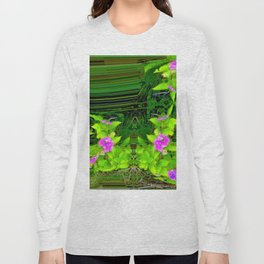 Another view into garden ... Long Sleeve T-shirt