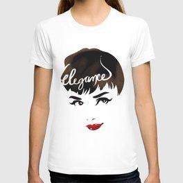Bombshell Series: Elegance - Audrey Hepburn T-shirt