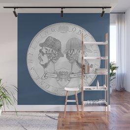 sherlock shilling! Wall Mural