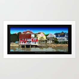 St Andrews, New Brunswick. Art Print