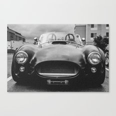Cobra (3) Matte black Canvas Print