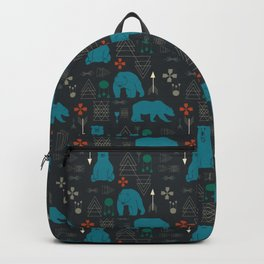 Tribal Bear Backpack