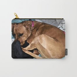 Snuggling Mom's Hoodie Carry-All Pouch