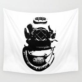 Diving Helmet Wall Tapestry