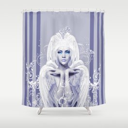 The Elegance of White Shower Curtain