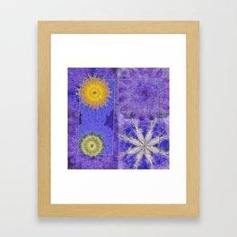 Mopey Feeling Flower  ID:16165-060813-24921 Framed Art Print